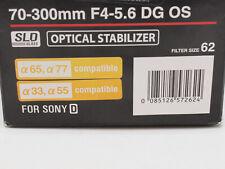 Sigma DG 70-300mm f/4.0-5.6 OS DG Lens For Minolta/Sony