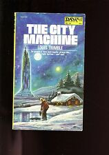 THE CITY MACHINE, Louis Trimble,  DAW 24, US 1st , sb, VG