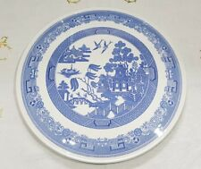 Spode Willow pattern Blue Room Collection Gateau Cake Serving Plate Excellent