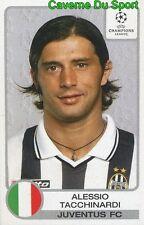 148 TACCHINARDI ITALIA JUVENTUS STICKER PANINI CHAMPIONS LEAGUE 2001-2002