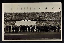 1936 Berlin Germany Olympics Runner Real Picture Postcard Cover Dignitaries