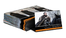 Game of Thrones Season 8 Foil Parallel base set (60 cards) + free autograph