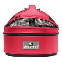 NEW Sleepypod Mini Pet Bed Dog or Cat Traveler Carrier PINK BLOSSOM