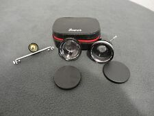 3 Bower Camera Lens,Wide Angle, Telephoto, Tele-wide Finder for Polaroid/w Case