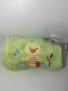 Babies r Us Green Duck Towel Unisex