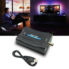 High Speed HDMI to BNC Converter Composite Video Signal Adapter VHS PAL/ NTSC