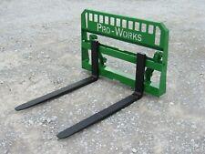 48 5500 Pound Pallet Forks Attachment Fits John Deere Tractor Global Loader
