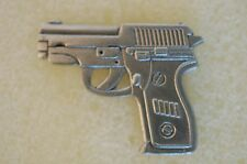 US USA 9MM Automatic Auto Pistol Gun Weapon Military Hat Lapel Pin
