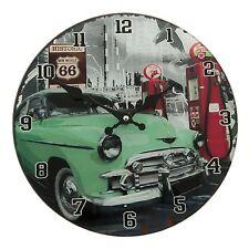 Montre Clayre Eef NOSTALGIE Voiture Rétro Shabby verre vintage antique 30 4cm