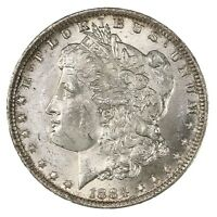 Raw 1884-O Morgan $1 Uncertified Ungraded New Orleans Mint Silver Dollar Coin