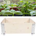 Jardinière en bois surélevée pliable pour légumes à fleurs FR