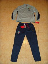 Italy Soccer Tracksuit Italia Puma RARE Top Pants Football Training Suit NEW XL