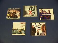 INXS CD lot of 5-Disappear, X, Kick, Welcome to Wherever You Are, New Sensation