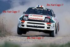 Didier Auriol Toyota Celica Turbo 4WD World Rally Champion 1994 Photograph 1