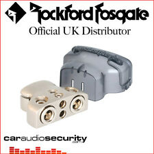 Rockford Fosgate RFDB1 - 4 AWG or 1/0 AWG Positive-Negative Battery Terminal