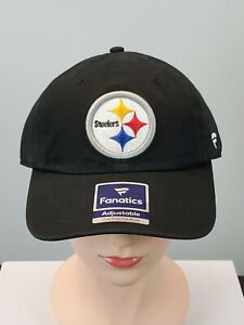 Pittsburgh Steelers NFL Football Fanatics Pro Line Adjustable Cap Hat Authentic