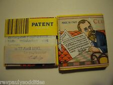 CLUB FRENCH SQUARE SD Modiano ROLLING PAPERS BLUE Printed 1st Leave 2 Packs ECHU