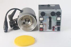 Dynalite M500XL Puissance Supplu Boîte Avec / 1x 1836-01 Flash Tête Éclairage