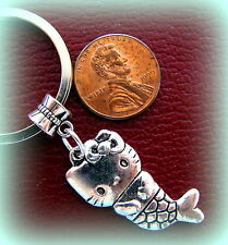 Kitty Cat Kitten Mermaid CAT KITTEN KITTY Keychain JEWELRY - Sealife MERMAID