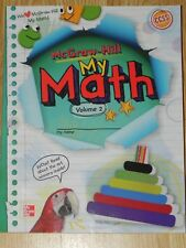 Elementary Math Connects McGraw-Hill My Math 2nd Grade 2 Student Edition Vol. 2