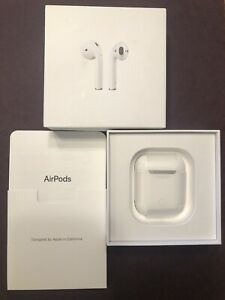 Apple AirPods 2nd Generation with Charging Case - White