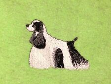 Cocker Spaniel Parti, Hand Towel, Embroidered, Custom, Personalized, Dog