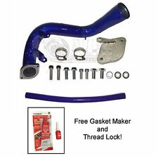 EGR Delete Kit For Chevy Duramax 06 - 04/2007 6.6 LBZ with High Flow Intake Tube