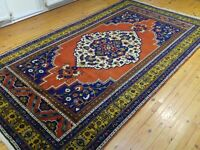 """Beautiful Antique 1930-1945's Wool Pile Natural Color Tribal Area Rug 6'x10'10"""""""