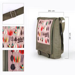 Fabric Designer Shoulder Bag High Quality Handmade Textile Messenger Bag Unisex