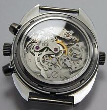 display GLASS BACK for poljot chronograph 3133 ussr watch Okean Shturmanskie