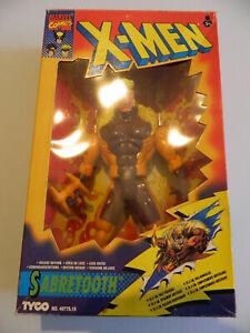 Marvel Comics X-Men Sabretooth Figur TYCO Deluxe Edition 25,5 cm