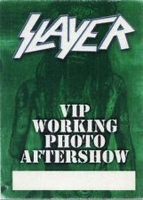 Slayer 2011 American Carnage Concert Tour Backstage Pass! Authentic Original