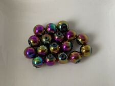 10 Silber Edelstehl Perlen Spacer Beads DIY 12mmX10mm LP