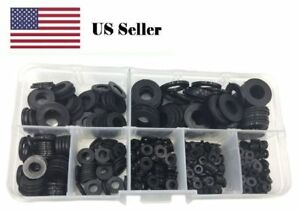 Plastic Washer Black Nylon Metric kit Assorted