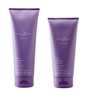Neal And Wolf Blonde Purple Brightening Shampoo & Conditioner 200ml Duo