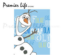 Disney Frozen Olaf Fleece Blanket - Brand New, Cozy Warm Novelty Gift