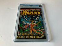 WARLOCK 1 CGC 8.5 ORIGIN OF WARLOCK MARVEL COMICS 1972