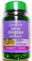 180 Softgel Oil of Oregano 1500mg 10:1 Extract Gluten Free Capsule