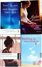 Buchset: 4 Bücher aus dem Verlag Piper, Romane