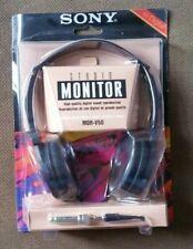 Sony Studio Monitor MDR-V50 Headphones New Worn Package Free US Ship