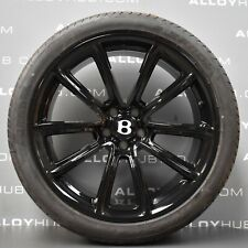 "GENUINE BENTLEY CONTINENTAL GT/GTC 20"" INCH ALLOY WHEELS WITH PIRELLI TYRES X4"