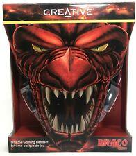Creative - 51EF0700AA001 - Draco HS880 Headset - Black