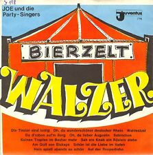 Vinyl Single: Joe & Partysingers - Bierzelt Walzer / Hafen Party            J198