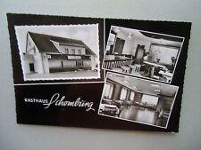 Ansichtskarte Minden Wasserstr. Rasthaus Schomburg 1968