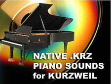 Kurzweil Pianoforte a Coda SUONI CD tedesco per k2500 k2600 k2661 pc3k8 pc3k7 pc3k6 D
