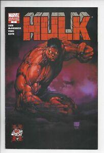 Hulk (2008) #1 (VF+) - 8.5 Red Hulk 1st appearance! Wizard World Turner variant