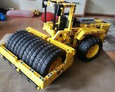 Bauanleitung instruction Straßenwalze 42030 Eigenbau Unikat Moc Lego Technic