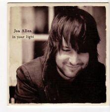 (FA360) Jon Allen, In Your Light - 2009 DJ CD