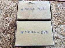 2-JAF  Bearings, Cat# W 5204-2RS ,comes w/30day warranty, free shipping