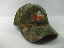 Alpine Beer Camo Hat Camouflage Hook Loop Baseball Cap